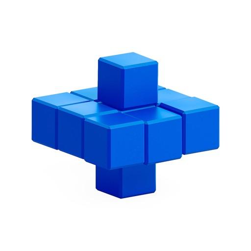 Blue whirligig