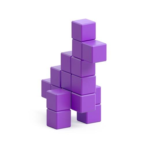 Violet dinosaur