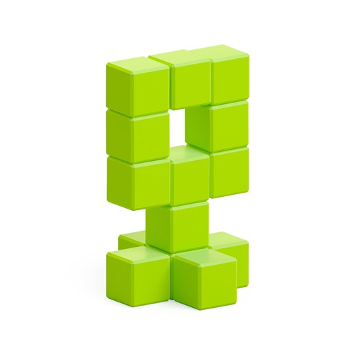 Light green alien